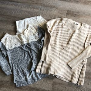 Bundle of AF sweaters